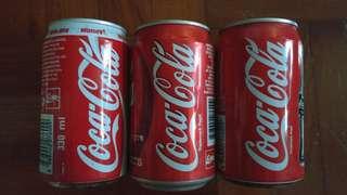 可口可樂罐 收藏品 新加坡 1996 年