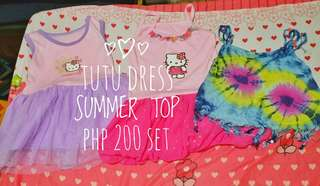 Tutu Dress Summer Top