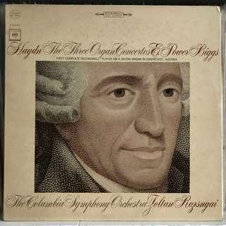 Haydn 3 Organ Concertos Power Biggs MS 6682