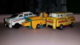 Transforming cars