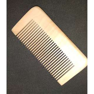 Wooden comb ~Japanese natural craft~