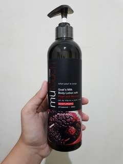 #DiscountRMDN Mutouch body lotion mulberry