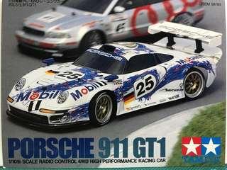 🔥Tamiya 1/10 Porsche 911 GT1 1997 遙控車外殼 田宮模型