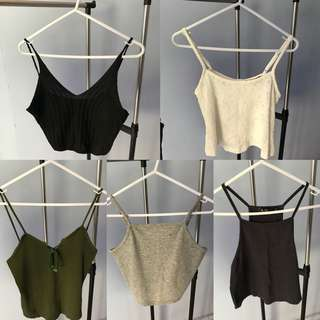 Halter crop top/s