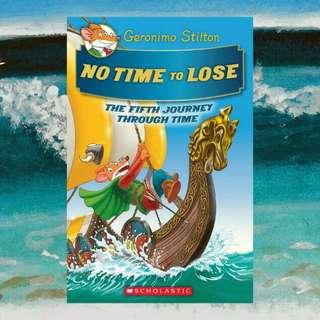 (BN) Geronimo Stilton Journey through Time #5: No Time to Lose