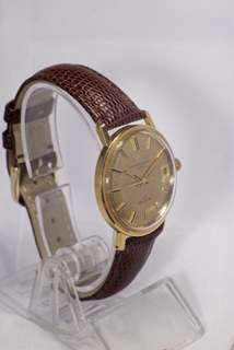 Eterna Matic Deluxe solid gold