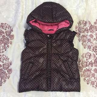 Thick vest for cold weather