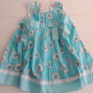 Baby Dress by Funky babe - sz 3-6 mths