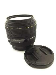 Sigma 30mm F1.4 DC for Nikon