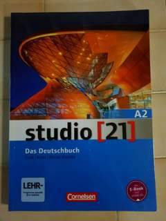 Studio [21] A2 German Textbook