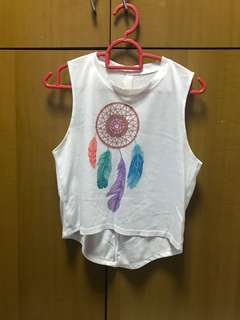 Dreamcatcher Sleeveless Crop