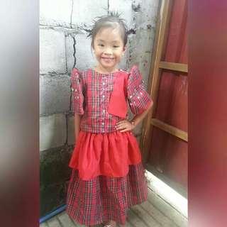 Filipiniana 4 to 7 years old