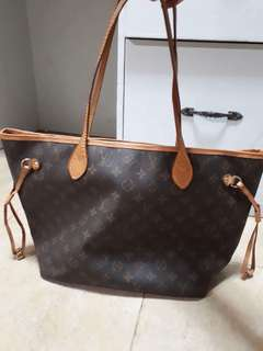 Authentic preloved Louis Vuitton Neverfull MM in Monogram