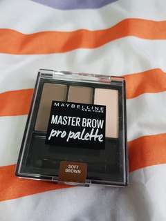 Brand new sealed Maybelline Master Brow Pro Palette