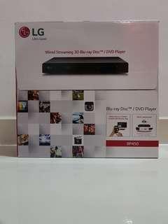 BNIB LG Blu-ray Disc/DVD Player