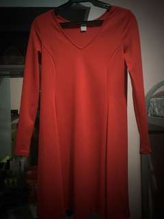 Red Dress (Old Navy)