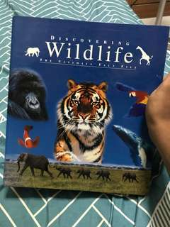 Discovering Wildlife the ultimate fact file full collection