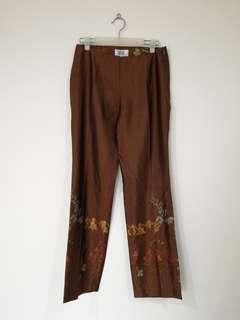 Oasis Oriental Palazzo-style Pants