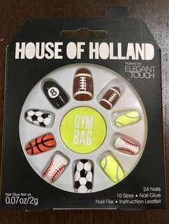 House of Holland Gym Bag - Sports Nails