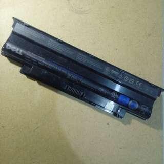 Baterai Laptop Dell bekas Laptop Dell N4050 mati total