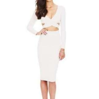 Nookie cream dress