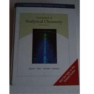 Fundamentals of Chemistry 8th Edition, ISE, Skoog, West, Holler, Crouch,