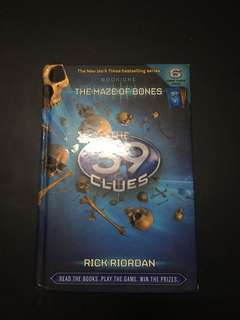 39 Clues Book 1: The Maze Of Bones