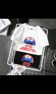 [PREORDER] Unisex cookie monster top