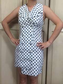 Niche Pretty Polka Dot Dress