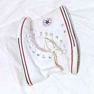 Converse Chuck Taylor All Star Slim Hi White