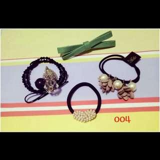 Hair band/hair clip/ hair tie 4 pcs
