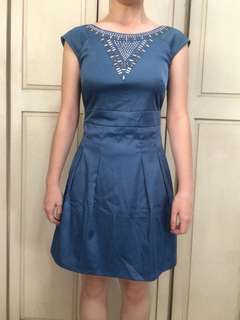 Ensembles Pretty Blue Dress
