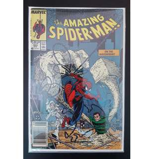 Amazing Spider-Man #303 (1988, 1st Series) Todd McFarlane's Awesomeness! Guest-starring Silver Sable!
