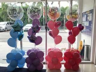 Customised balloon cluster