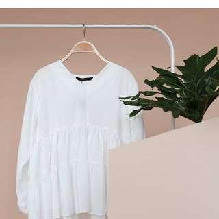 Shopataleen white top