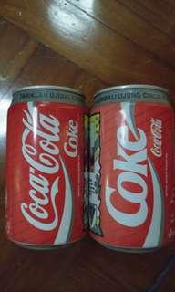 可口可樂罐收藏品 Indonesia 1995年