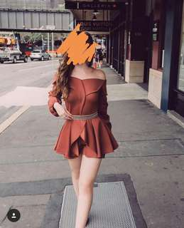 FOR RENT: PLAYSUIT/ DRESS