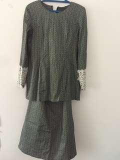 Baju Kurung Moden with lace #rayaletgo