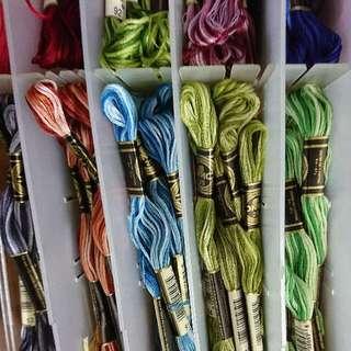 variegated threads DMC