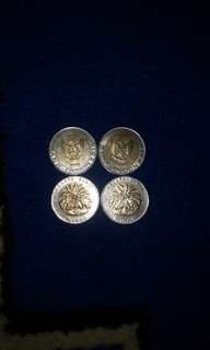 logam 1000 rupiah 1996