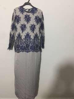 lace modern kurung #rayaletgo