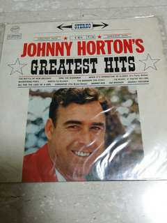 Johnny horton lp Record vinyl