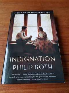 Indignation by Phillip Roth, Pulitzer Prize-Winning Author