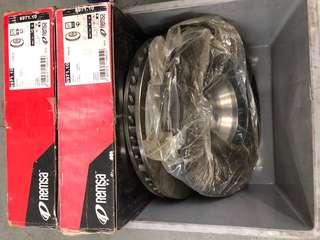 Porsche Cayenne 995 brake disc