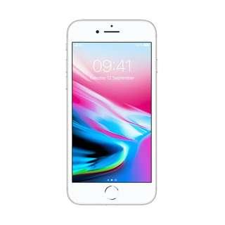 Apple iPhone 8 64GB Silver Garansi Internasional Bisa Kredit Mudah