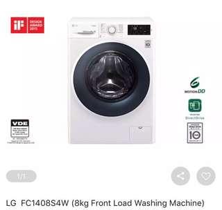 LG FC1408S4W 8KG Front Load Washing Machine