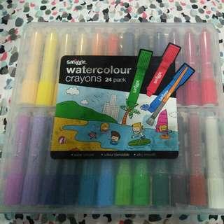 Smiggle Watercolor Crayon