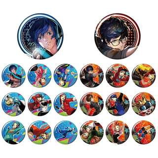 [PO] Persona 3 & 5 Trading Badge Collection