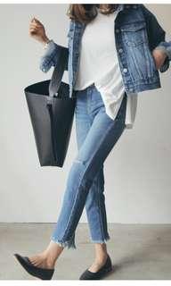 Preloved Celine Inspired Hobo Bag - Black