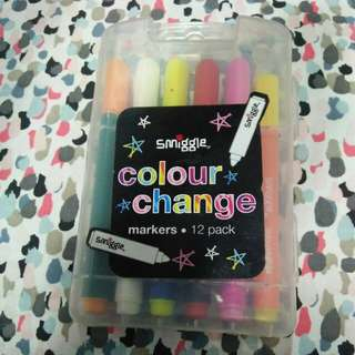 Smiggle Color Change Markers